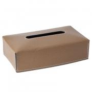 Салфетницы настольные настенные. Салфетница кожаная Suite tissue box covers by GioBagnara