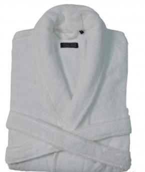 Халаты Одежда для бани и сауны. Халат DOWNTOWN (Nem) (S; M; L; XL) белый от Casual Avenue