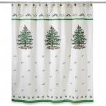 Новый Год. Шторка для ванной Spode Christmas Tree 11523JCQH