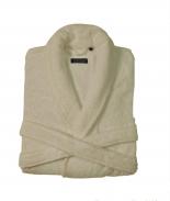 Халаты Одежда для бани и сауны. Халат CHICAGO (MASAL) (S; M; L; XL) слоновая кость от Casual Avenue