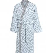 Халаты Одежда для бани и сауны Deluxe. Халат мужской кимоно (L; XL; XXL) Lacelogo Navy (Лейслого Нейви) от Kenzo
