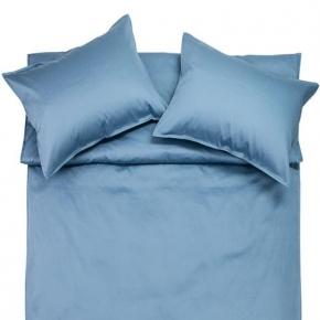 Постельное бельё. Постельное белье Simple Lippo (Симпл Липпо) королевское (240х220) голубой от Fiori di Venezia