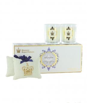 Ароматические свечи Парфюм для дома Диффузоры. Подарочный набор Вистерия от Ashleigh&Burwood