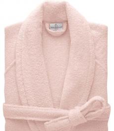 Халаты Одежда для бани и сауны Deluxe. Халат с шалью женский (S; M; L) Etoile Blush (Этуаль Блаш) от Yves Delorme