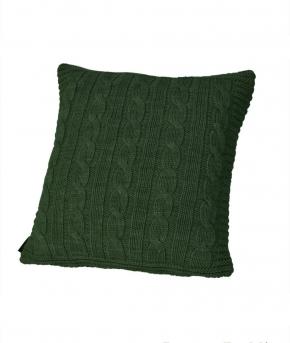 . Декоративная подушка Boston (40х40) темно-зеленый от Casual Avenue