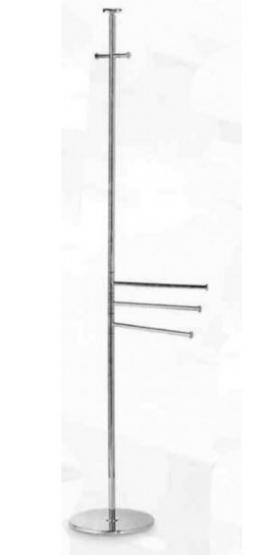 . Стойка для халатов с 3-мя полотенцедержателями E243.013