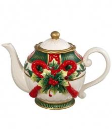 . Чайник с бантом 22 см от Lamart art.29730