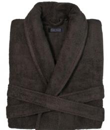 Халаты Одежда для бани и сауны. Халат DOWNTOWN (Nem) (S; M; L; XL) шоколад от Casual Avenue
