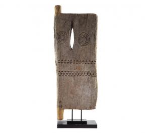Предметы декора Deluxe. Дверь дома африканского племени