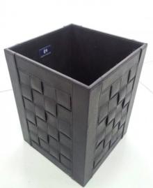 Офисные вёдра Корзины для бумаг Урны. Емкость для мусора 2903BK