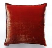 Декоративные подушки Deluxe. Подушка Silk Velvet - Burnt Orange