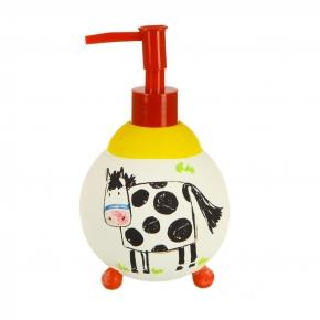 Аксессуары для детских ванных комнат. Дозатор для жидкого мыла Kiddie Farm XKIDDE002R