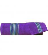 Полотенца хлопковые Deluxe. Набор из 2-х полотенец Master (40х60; 60х110) Фиолетовый от Missoni