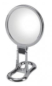 Зеркала косметические с подсветкой увеличением настенные настольные Зеркала с присосками. Косметическое настольное зеркало с 6-и кратным увеличением 398KK6