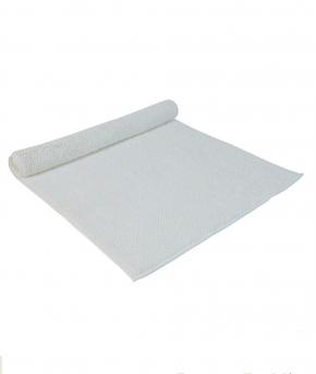 . Полотенце для ног (коврик) Chester (Честер) 60×90 белый от Casual Avenue