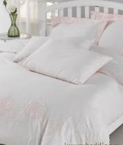 Постельное бельё. Постельное белье полутороспальное розовый (160х220) Acelya от Eke