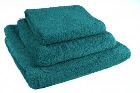 Полотенца хлопковые.         Полотенце Супер Пил сине-зеленое