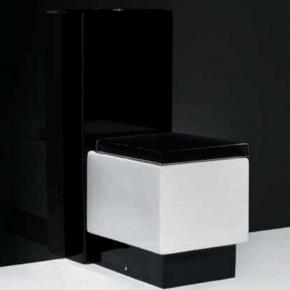 Унитазы Биде. Унитаз комбинированный Althea Ceramica Design Plus 40062 с керамическим бочком