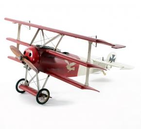 Декоративные игрушки Deluxe. Модель самолета Fokker Triplane