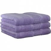 """Полотенца хлопковые.          Полотенце CAWO """"Nobless"""" 1001 Фиолетовый"""