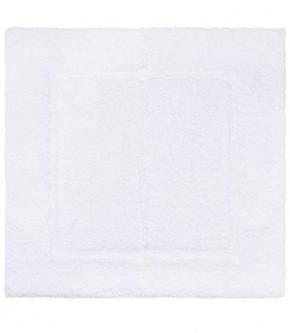 Коврики для ванной комнаты. Коврик для ванной квадратный (60х60) Prestige Blanc (Престиж Бланк) от Yves Delorme