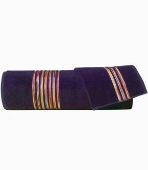 Полотенца хлопковые Deluxe. Набор из 2-х полотенец Master (40х60; 60х110) Темно-коричневый от Missoni