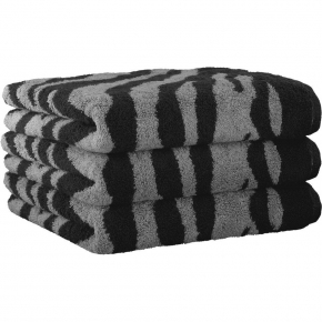 ".         Полотенце CAWO ""Zebra"" 562 Антрацит"