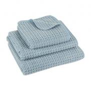 Полотенца хлопковые. Полотенце Исо голубое