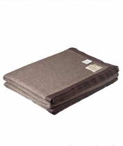 Пледы Покрывала Deluxe. Плед-покрывало Tubet коричневый 250х220 см. от Co.Bi