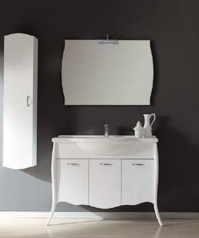 Мебель для ванной комнаты. Мебель для ванной комнаты Eurolegno Clip Композиция 3