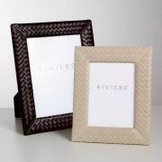 Рамки для фотографий Deluxe. Рамка для фотографий кожаная Milano Leather by Riviere