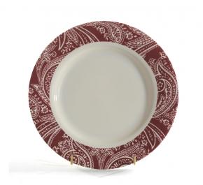 Посуда Столовые приборы Декор стола Deluxe. Тарелка закусочная мелкая