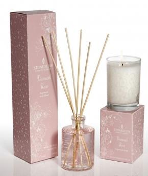 Ароматические свечи Парфюм для дома Диффузоры. Диффузор Дамасская Роза от Stone Glow 100 мл. Art.3443