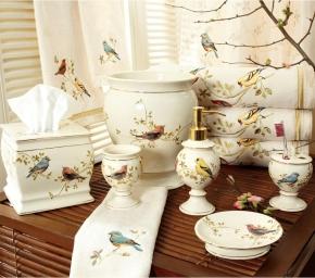 . Gilded Birds керамические настольные аксессуары для ванной