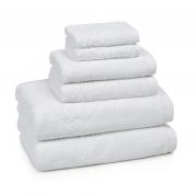 Полотенца хлопковые. Полотенце для ног (банный коврик) 51х86 Toscana  White TOS-175-W