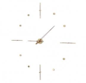 Часы. Nomon Mixto Gold N полированная латунь Ø125 см