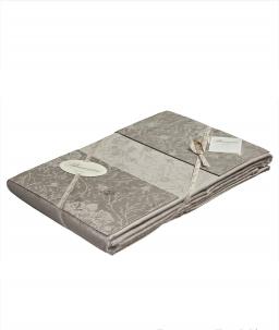 Постельное бельё Deluxe. Постельное белье с пододеяльником 250×200 Chantal серый от Blumarine арт. 76276