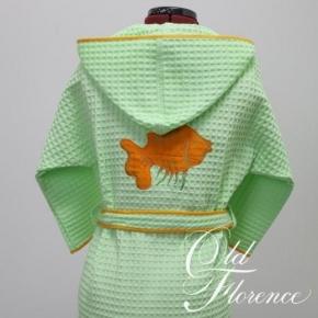 Текстиль для детей: полотенца, халаты, постельное бельё и др.. ХАЛАТ детский НЕМО 2 года