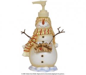 . Дозатор для жидкого мыла I Love Winter