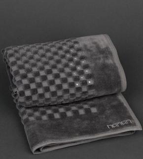 Коврики для ванной комнаты. Коврик A Premium (70х100) Темно-серый от Hamam