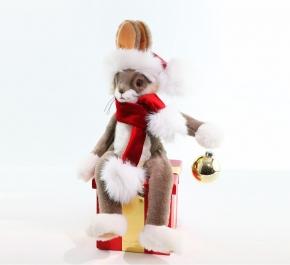 Новый Год. Заяц новогодний (модель 3)