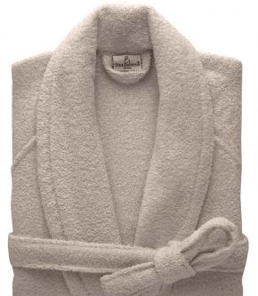 Халаты Одежда для бани и сауны Deluxe. Халат с шалью унисекс (S; M; L; XL; XXL) Etoile Pierre (Этуаль Пьер) от Yves Delorme