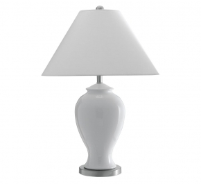 Лампы настольные. Лампа настольная Giant White Ceramic