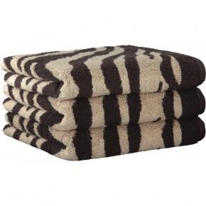 ".         Полотенце CAWO ""Zebra"" 562 Коричневый"
