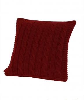 . Декоративная подушка Boston (40х40) бордовый от Casual Avenue