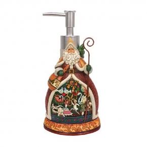 . Дозатор для жидкого мыла Twelve Days of Santa