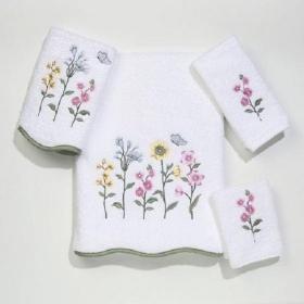 Полотенца хлопковые. Полотенце для рук Country Floral WHT