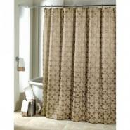 Шторки для душа и ванны текстильные. Шторка для ванной Galaxy Gold 11933GLD