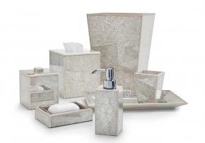 Аксессуары для ванной настольные. Miraflores Ivory