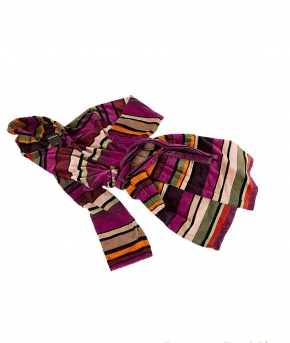 Халаты Одежда для бани и сауны Deluxe. Халат Folish Stripes от Sonia Rykiel